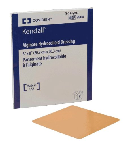 Kendall Healthcare 689804 Ultec Pro Alginate Hydrocolloid Bordered Dressing 8