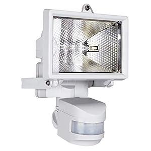 Smartwares Outdoor Halogen Floodlight, PIR Motion Sensor, 120 W, 2250 Lumens