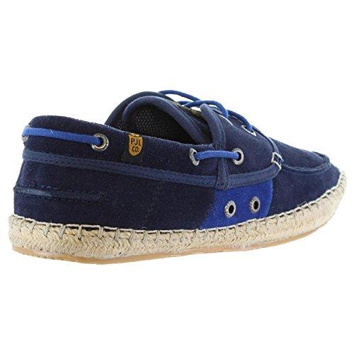 Pepe Jeans London TOURIST BOAT - Náuticos de cuero hombre azul - Blau (585MARINE)