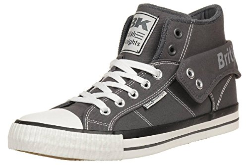 British Knights ROCO BK men trainer Sneaker B39-3733-03 grey, shoe size:EUR 45