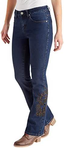 Joe Browns Women's Embroidered Flared Jeans