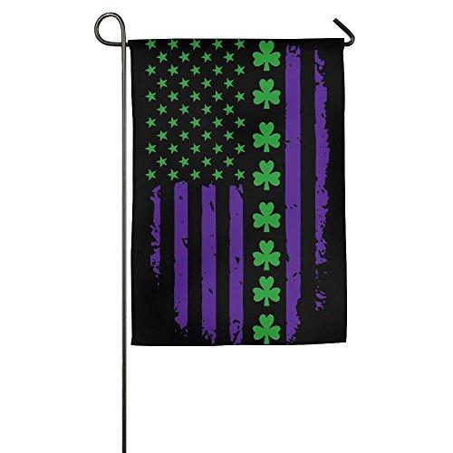 LLiYing-D St. Patrick's Day Irish American Flag Graphic Celebration Flag ()