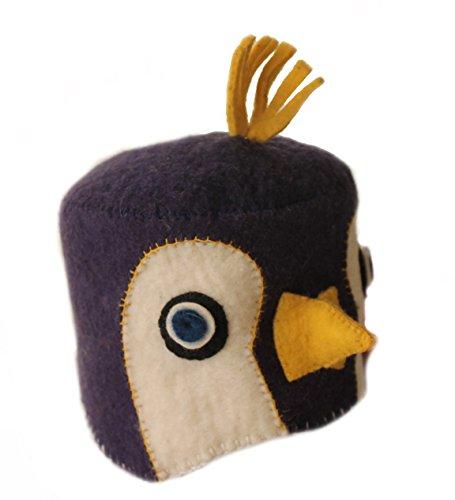 Silk Road Bazaar Zootie Hats Penguin, Blue/White by Silk Road Bazaar