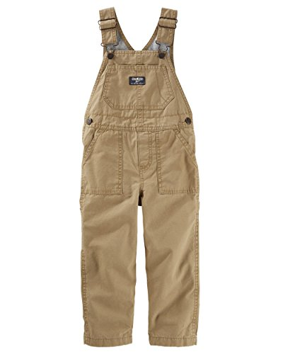 - OshKosh B'Gosh Baby Boys' Denim Overalls Brown 9 Months