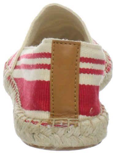 Nomade Dames Foxy Espadrille Rood