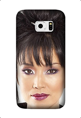 Samsung Galaxy S7 - Utral Slim Black Hard Case for Samsung Galaxy S7 keiko matsui haircut girl makeup lipstick Shock-Proof Protective Case Design By [Cynthia Cooley]