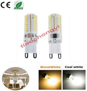 FidgetKute G4 G9 LED Spot Light Bulb Lamp 3W 5W 24 64led 3014 Warm Cool White 110//220V Lot G9-3014-69LED-AC 220V Warm White 4pcs One Size
