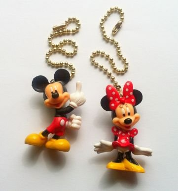 New 2 disney mickey minnie mouse figure ceiling fan light pull new 2 disney mickey minnie mouse figure ceiling fan light pull chains aloadofball Gallery