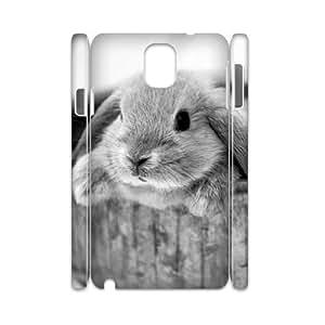 T-TGL(RQ) Print your own photo phone Case for Samsung galaxy Note 3 N9000 3D cheap Rabbit case