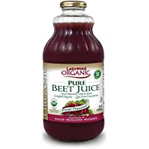 Lakewood Organic PURE Beet Juice, 32 Ounce (Pack of 6)