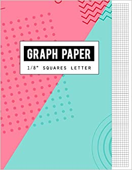 graph paper 1 8 squares letter black lines law ruled letter