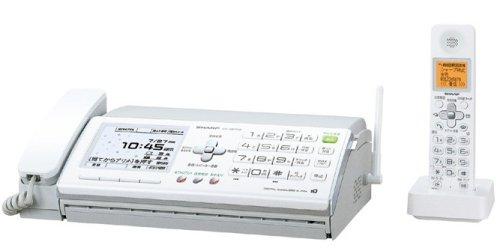 シャープ デジタルコードレスFAX 子機2台付き UX-D57CW B000TGB5W2 子機2台付き