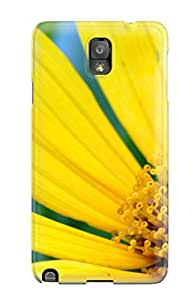 Lori Hammer's Shop High Quality Big Yellow Flower Case For Galaxy Note 3 / Perfect Case