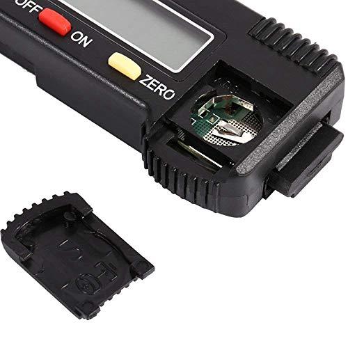 SODIAL Misuratore della pressione dei pneumatici digitale da 0-25,4 mm per auto e moto