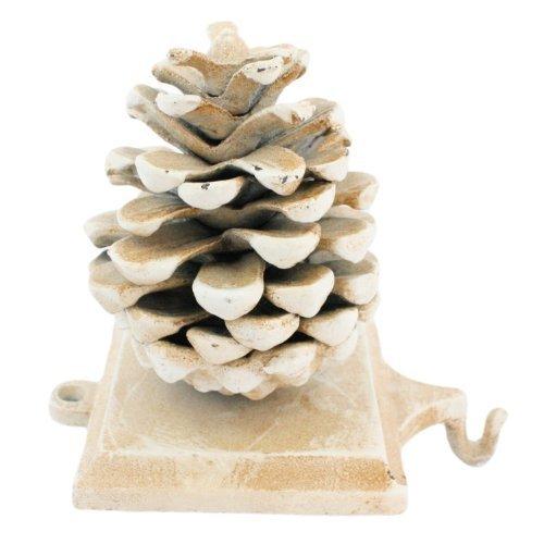 (Stocking Holder Pinecone - Cast Iron)