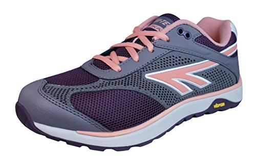 HI-TEC Lady V-Lite Nazka Trail Running Shoes - 6 - Grey