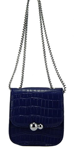 Crossbody Go Mini Embossed Go Cell Phone Shoulder Fashion Purse To Snakeskin Navy xXqzZzw