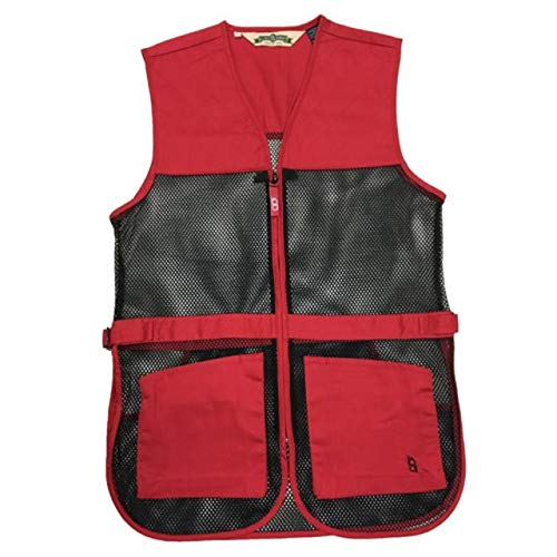 Boyt Harness Dual Pad Shooting Vest, Red, 2X by Boyt Harness