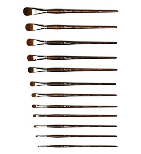 Raphaël Red Sable Brush Series 8722 Almond Filbert 8 Raphael Brush