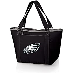 PICNIC TIME NFL Philadelphia Eagles Topanga Insulated Cooler Tote, Black