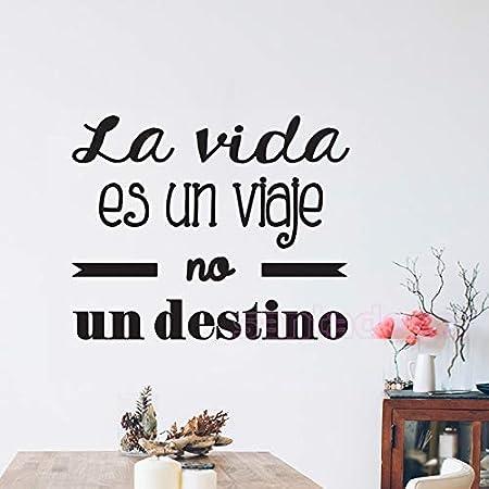 zxddzl Pegatinas de Vinilo Pegatinas de Pared Cita en español ...