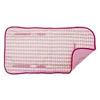 Asiento o Funda para Carriola Medida Universal de Algodón Acolchado Estampado Geométricos Rosa