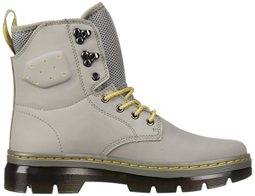 adulte Mid Martens Boot Grey Dr Ajax Unisexe Quinton 7 Tie Nubuck synthetic EqnSZw4
