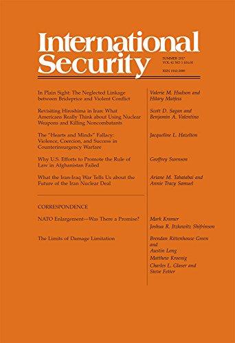 International Security 42:1 (Summer 2017)