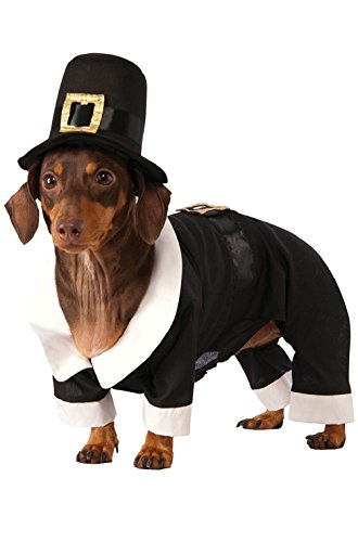 Dog Costumes Colonial (Fashion Colonial Pilgrim Boy Pet Dog Costume)