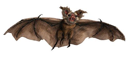 [Realistic Hanging Brown Bat (Brown)] (Disneyland Haunted Mansion Costume)