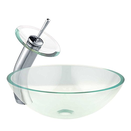 waterfall faucet and bowl - 8