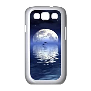 Cheap Dolphins at oceans Case Cover Best For Samsung Galaxy S3 FBGH-T490304