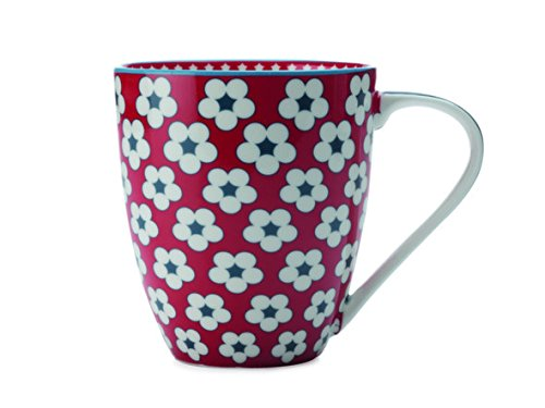 Christopher Vine Cotton Bud Mug 500ml Red