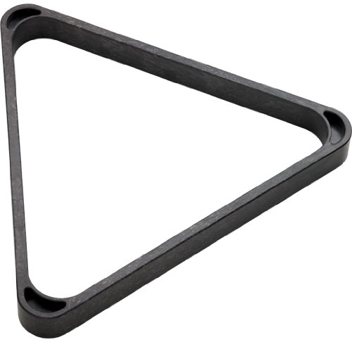 CueStix International Heavy Duty Plastic 8-Ball Triangle Rack