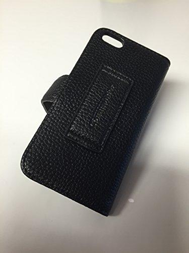 Commander Cross Leather Black für Apple Iphone 5S - Sondermodell von x-squeeze-it