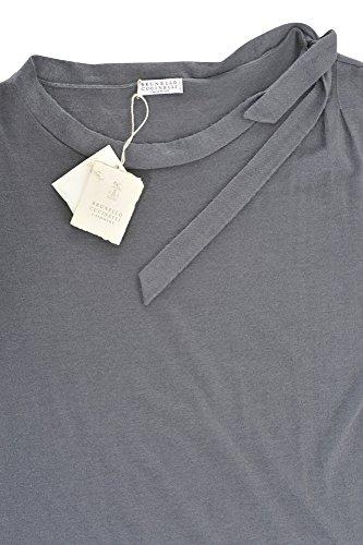 Damen Brunello Einfarbig Cucinelli Kleid IT Dunkelgrau XL Kaschmir q77Er