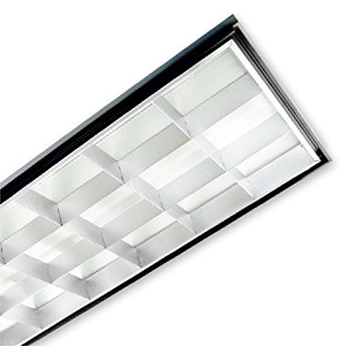6300 Lumens - LED - 2 x 4 - Lay-In Troffer - 54 Watt - 3 Lamp Fluorescent Equal - 4000 Kelvin