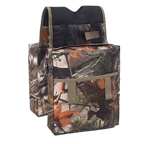 Baosity Motorcycle ATV Tank Saddle Bag Waterproof Storage for Outdoor Camping Travel