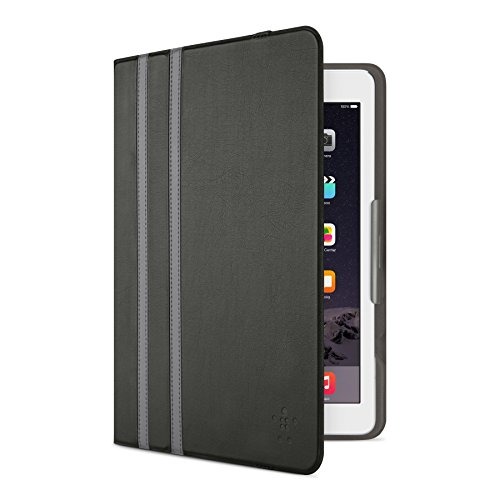 Belkin Twin Stripe Folio for iPad Air 2 and iPad Air (Gravel Stripe) ()
