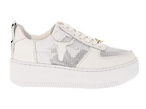Smith Windsor Donna Pelle Bianco Windracerrtb Sneakers A0ww7a