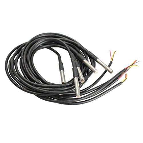 14 opinioni per WINOMO 5pcs DS18B20 temperatura impermeabile sensori trasduttori di temperatura