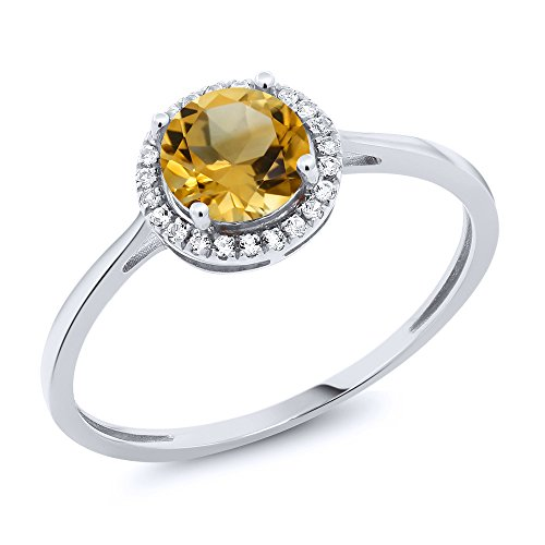 Yellow Diamond Rings - 5
