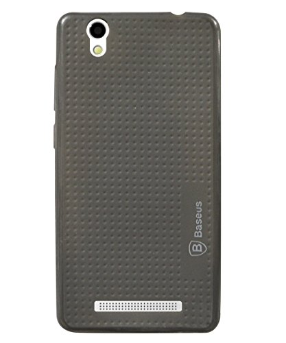 COVERBLACK Rubber Back Cover for Gionee F103   Grey