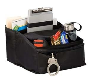 Uncle Mike's Law Enforcement Deluxe Car Seat Organizer, Black