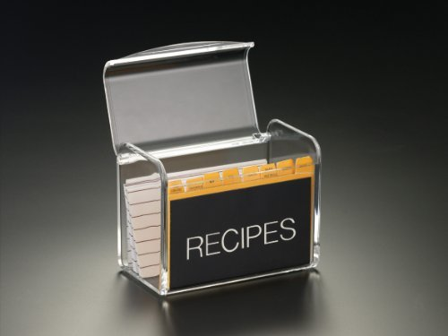 (Recipe Box W/O Cards (Acrylic))