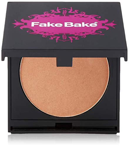 (Blush Bronzer by Fake Bake | Cream Based Bronzing Compact Provides Long-Lasting Pigmentation Results | 8 grams)
