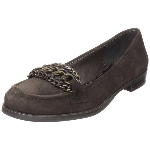 (B. MAKOWSKY Women's Greer Slip-On Loafer,Black,5.5 M US)
