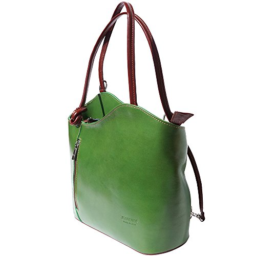 à marron 207 sac transformable dos Vert en à èpaule sac 6qzwXAx