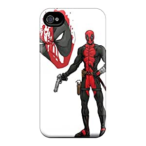 Great Hard Phone Cover For Iphone 6 With Provide Private Custom HD Deadpool I4 Skin CharlesPoirier
