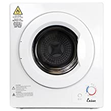 XtremepowerUS Stainless Steel Tumble Dryer 9lbs Portable Compact Dryer